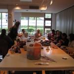 Try out van de Inloopmiddag Handwerkcafé 28-04-2014