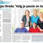 Tientjes in het Stadsblad Breda, 29-10-2014