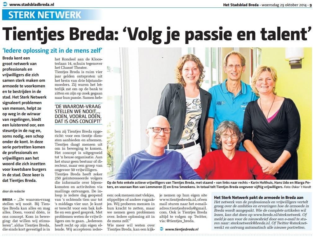 2014 10 29 Het Stadsblad Breda