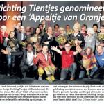 Tientjes in het Stadsblad Breda, 28-01-2015