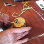 Elke maandagmiddag van 13.00 – 16.00 uur: Yarnpainting