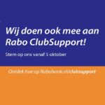 Rabo ClubSupport: Stem jij op Tientjes?